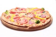 Πίτσα με το τυρί Στοκ φωτογραφίες με δικαίωμα ελεύθερης χρήσης