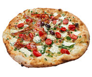 Πίτσα μπέϊκον Στοκ εικόνα με δικαίωμα ελεύθερης χρήσης