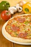 πίτσα νόστιμη Στοκ εικόνες με δικαίωμα ελεύθερης χρήσης
