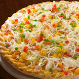 πίτσα πορτογαλικά Στοκ φωτογραφίες με δικαίωμα ελεύθερης χρήσης