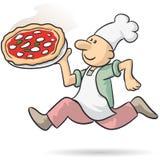 Πίτσα σαφής Στοκ φωτογραφία με δικαίωμα ελεύθερης χρήσης