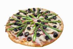 πίτσα σπαραγγιού Στοκ φωτογραφία με δικαίωμα ελεύθερης χρήσης