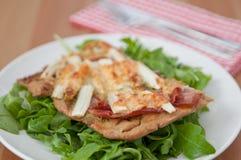 Πίτσα σπαραγγιού Στοκ Εικόνα