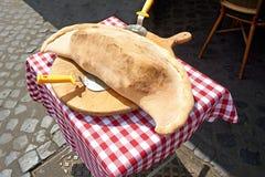 Πίτσα στη Ρώμη Στοκ εικόνες με δικαίωμα ελεύθερης χρήσης