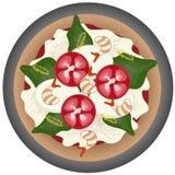 πίτσα της Μαργαρίτα Στοκ φωτογραφία με δικαίωμα ελεύθερης χρήσης