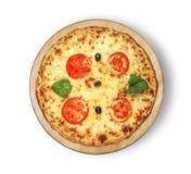 Πίτσα της Μαργαρίτα Στοκ εικόνα με δικαίωμα ελεύθερης χρήσης