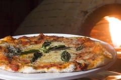 Πίτσα της Μαργαρίτα Στοκ Εικόνα