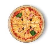 πίτσα της Χαβάης Στοκ Εικόνες
