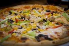 πίτσα τροφίμων στοκ εικόνες με δικαίωμα ελεύθερης χρήσης