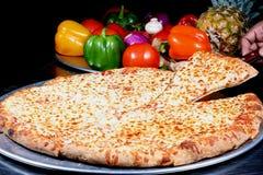 πίτσα τυριών Στοκ Εικόνες