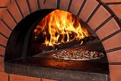πίτσα φούρνων Στοκ Εικόνα