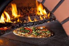 πίτσα φούρνων Στοκ Φωτογραφίες