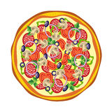 Πίτσα. Στοκ εικόνες με δικαίωμα ελεύθερης χρήσης