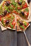 Πίτσα. στοκ φωτογραφίες