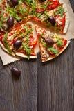 Πίτσα. στοκ εικόνα