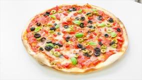 Πίτσα απόθεμα βίντεο