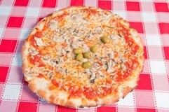 Πίτσα 08 Στοκ Εικόνα