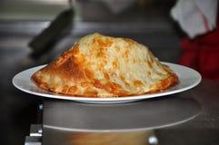 πίτσα calzone Στοκ φωτογραφία με δικαίωμα ελεύθερης χρήσης