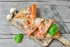 Πίτσα Capricciosa Στοκ Εικόνα