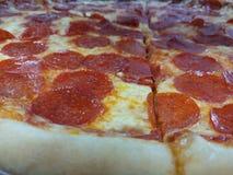 Πίτσα foodcloseup Στοκ εικόνες με δικαίωμα ελεύθερης χρήσης