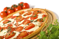 πίτσα margharita στοκ εικόνα με δικαίωμα ελεύθερης χρήσης