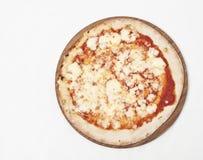 πίτσα margherita Στοκ εικόνα με δικαίωμα ελεύθερης χρήσης