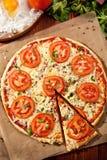 Πίτσα Margherita Στοκ φωτογραφίες με δικαίωμα ελεύθερης χρήσης