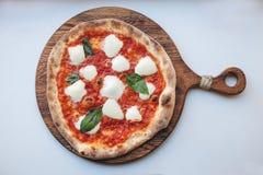 Πίτσα Margherita Στοκ εικόνες με δικαίωμα ελεύθερης χρήσης
