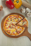 Πίτσα Suprime Στοκ φωτογραφία με δικαίωμα ελεύθερης χρήσης