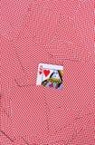 Παίζοντας ανασκόπηση καρτών στοκ φωτογραφίες με δικαίωμα ελεύθερης χρήσης