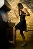 παίζοντας γυναίκα παιχνι&de Στοκ Εικόνες