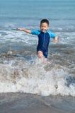 παίζοντας κύματα Στοκ Εικόνες