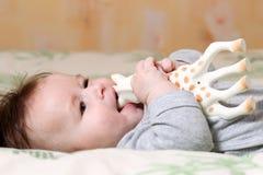 Παίζοντας μωρό Στοκ εικόνες με δικαίωμα ελεύθερης χρήσης