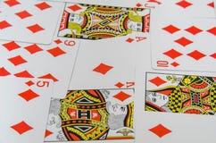Παίζοντας συλλογή καρτών Στοκ φωτογραφία με δικαίωμα ελεύθερης χρήσης
