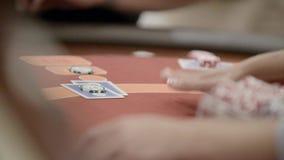 Παίκτες στη χαρτοπαικτική λέσχη φιλμ μικρού μήκους