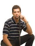 παίκτης γκολφ Ινδός Στοκ εικόνα με δικαίωμα ελεύθερης χρήσης