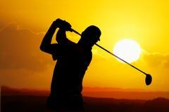 παίκτης γκολφ Στοκ εικόνες με δικαίωμα ελεύθερης χρήσης