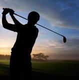 παίκτης γκολφ Στοκ εικόνα με δικαίωμα ελεύθερης χρήσης