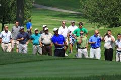 Παίκτης γκολφ του Tiger Woods Στοκ φωτογραφία με δικαίωμα ελεύθερης χρήσης