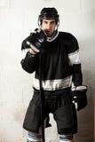 Παίκτης χόκεϋ Στοκ Φωτογραφία