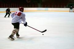 Παίκτης χόκεϋ Στοκ Εικόνα