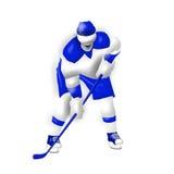 Παίκτης χόκεϋ Στοκ Εικόνες