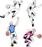 παίχτης μπάσκετ ελεύθερη απεικόνιση δικαιώματος