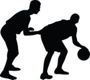 Παίχτης μπάσκετ Στοκ εικόνες με δικαίωμα ελεύθερης χρήσης