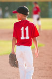 Παίχτης του μπέιζμπολ νεολαίας Στοκ Εικόνες