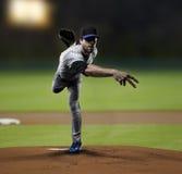 Παίχτης του μπέιζμπολ σταμνών Στοκ φωτογραφίες με δικαίωμα ελεύθερης χρήσης