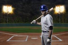 Παίχτης του μπέιζμπολ Στοκ φωτογραφία με δικαίωμα ελεύθερης χρήσης