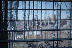 Παγάκια παραθύρων στη Νέα Υόρκη Στοκ Φωτογραφίες