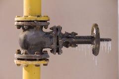παγάκια πυλών αερίου Στοκ Φωτογραφίες