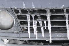 Παγάκια στο αυτοκίνητο Στοκ Φωτογραφίες